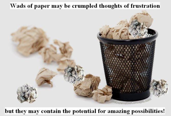 Potential, Ideas, InKnowvative Concepts, Encouragement