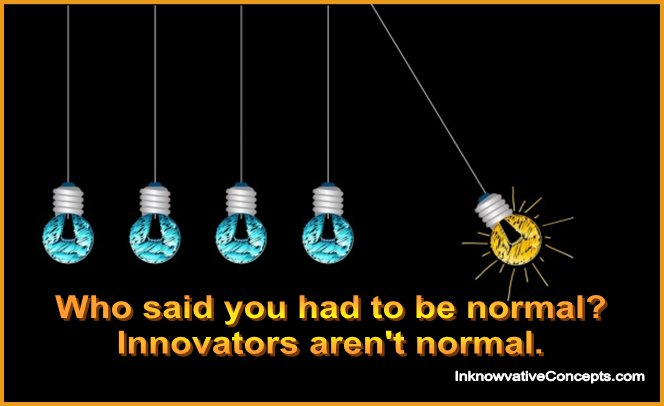 Technology, Innovation, Creativity, Dare to Be Different