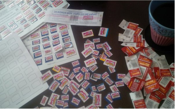 Box Tops for Education, Schools, Labels for Education