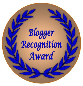 Blogging, Blogger Recognition Award